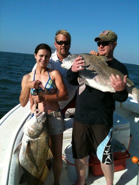 Black Drum Fishing Charter