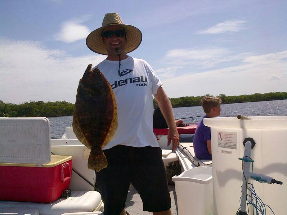 Fishing charter for Flounder