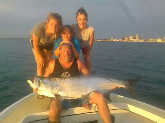 charter for tarpon fishing