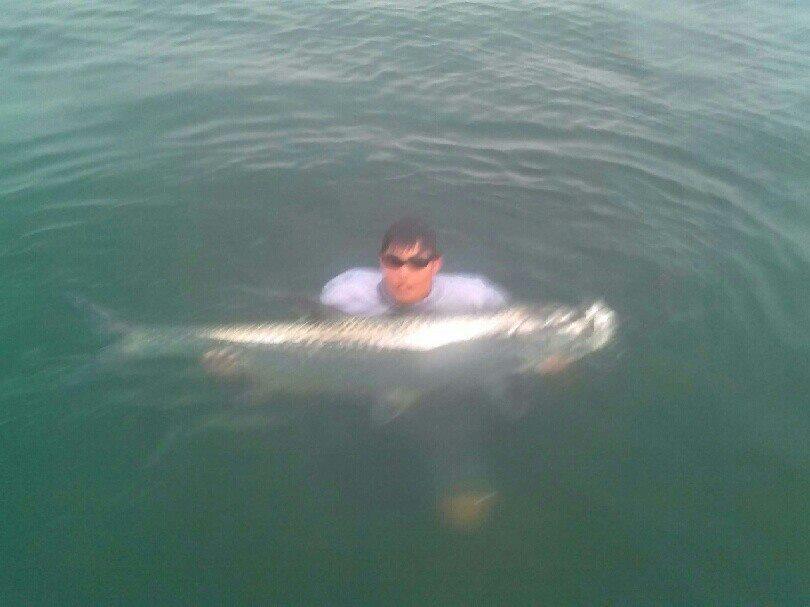 Tarpon fishing charter Tampa FL