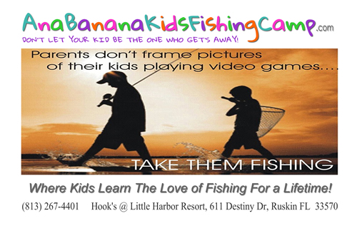 Ana Banana Kids Fishing Camp