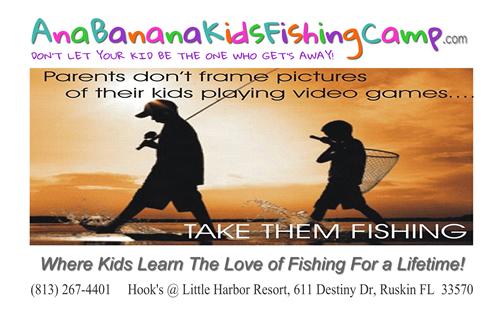 Ana Banana Kids Fishing Camp
